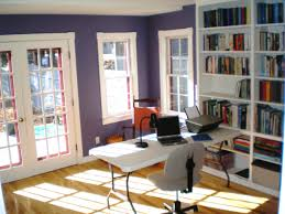 light airy purple best colors for home office