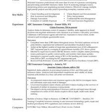 cover letter insurance s resume travel agent cv beforeclaims examiner resume claims adjuster resume sample