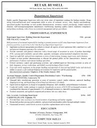 Retail Assistant Store Manager Resume Sample Cv Retail Store ... cv retail store manager ...