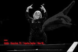 Toyota Houston Tx Adele Houston Tx Toyota Center Nov 10 Last One Minute