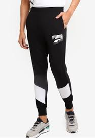 Shop Puma Puma <b>Sportstyle Core</b> Rebel Block <b>Pants</b> CL TR Online ...