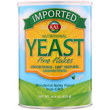 <b>Пищевые дрожжи</b> в хлопьях, Nutritional Yeast, Fine Flakes, KAL ...