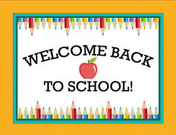 Image result for welcome back school