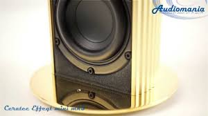<b>Полочная акустика Ceratec Effeqt</b> Mini mk III - gold - YouTube