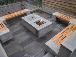 gas fire pit outdoor