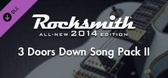 Rocksmith® 2014 Edition – Remastered – 3 Doors <b>Down</b> Song Pack <b>II</b>