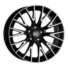 1000 MIGLIA MM1009 Gloss Black Polished <b>8.5x19/5x108</b> ET42 ...