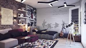 awesome brick stone wall ideas bedroom medium bedroom furniture teenage boys