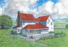 Old Farm House Plans   Smalltowndjs comExceptional Old Farm House Plans   Old Farmhouse Style House Plans