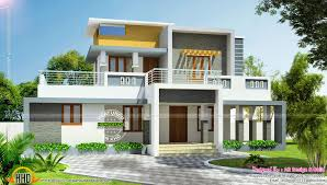 beautiful interior office kerala home design modern flat roof house in 244 square yards kerala home beautiful cool office designs information home