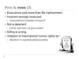 pro capital punishment essays Millicent Rogers Museum
