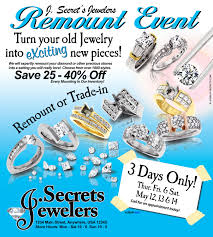 jewelry sample ads adverts advertisements jewelry secrets diamond remount sample ad