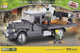 Армейский грузовик Opel Blitz с ПВО и двумя ... - Конструктор COBI