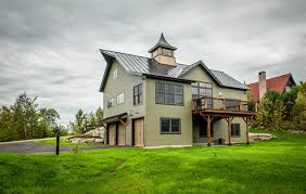 A New House Built to Look Like an Old BarnCabot Barn Yankee Barn Homes Design