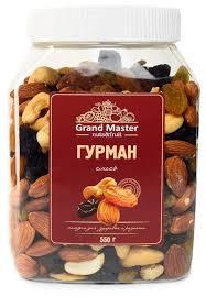 Смесь орехов и сухофруктов <b>Grand Master</b> Гурман 550 г — купить ...