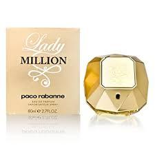 Lady Million by Paco Rabanne 2.7 oz Eau de Parfum ... - Amazon.com
