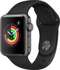 <b>Умные часы Apple Watch</b> Series 3, 38 мм, серый — купить в ...