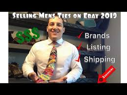 Complete Guide to selling <b>Men's Ties</b> on EBAY <b>2019</b> - YouTube