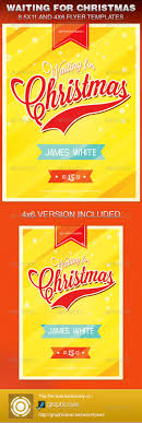 waiting for christmas church flyer template graphicriver waiting for christmas church flyer template church flyers