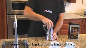 How To Use A Stove-<b>top Espresso Coffee Maker</b> - YouTube