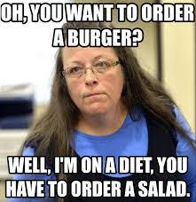 9 Hilarious Kim Davis Memes You Haven't Seen Already via Relatably.com