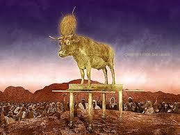 Resultado de imagem para idolatria na bíblia