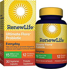 Renew Life Adult Probiotic - Ultimate Flora Everyday ... - Amazon.com