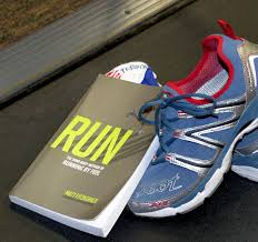 Image result for running and book