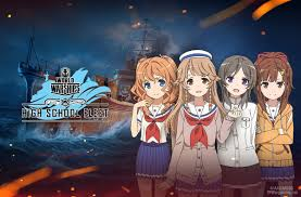Всё о High School Fleet в World of Warships! | World of Warships