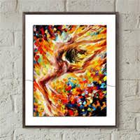 Modern Art Canvas Dancing for Sale
