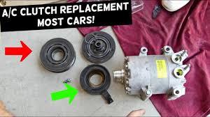 <b>AC COMPRESSOR CLUTCH</b> REPLACEMENT MOST CARS. A/C ...