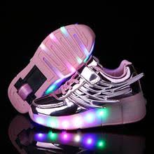 <b>Kids Shoes</b> Led and Wheel for Girl