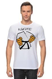 Футболка классическая Карате <b>кимоно</b> ги Karate #906848 от ...