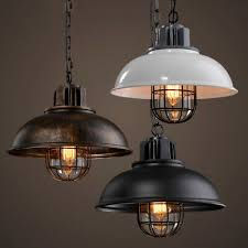 <b>American Industrial</b> Vintage Edison <b>Loft</b> Ceiling Light Industrial ...