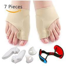 7 PCS Bunion Corrector Sleeves <b>Kit</b> Pain Relief <b>Toe Separator</b> ...