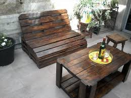 outside furniture made from pallets. pallet wood outdoor furniture set outside made from pallets