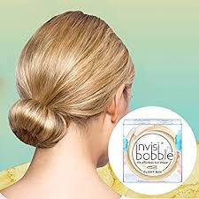 <b>invisibobble Clicky BUN</b> to Be Or Nude to Be Hair Bun Without Donut
