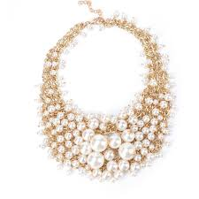 <b>Womens Wave Multi</b>-<b>layer</b> beads imitated crystal short Beads ...