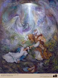 prophet ismail peace be unpon him fresh painting by ian prophet ismail peace be unpon him fresh painting by ian artist farshchian