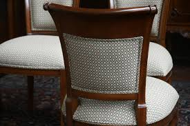 Fabrics For Dining Room Chairs Dining Room Chairs Upholstered Windham Formal Dining Set Cherry