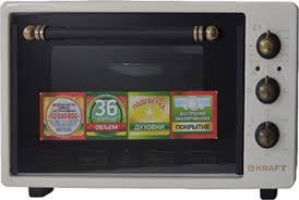 Купить мини-<b>печь Kraft KF-MO</b> 3601 BG Retro в интернет ...