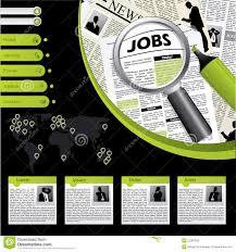 job searching website template stock photos image  job searching website template