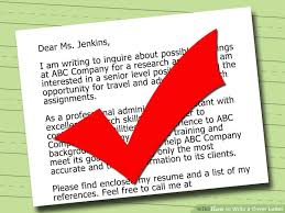 4 Ways to Write a Successful Cover Letter (with Sample Letters) Image titled Write a Cover Letter Step 15