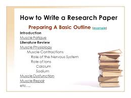 i research paper outline AcademicTips org