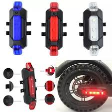 1 <b>PC</b> For <b>Xiaomi Mijia</b> M365 scooter waterproof warning light <b>LED</b> ...