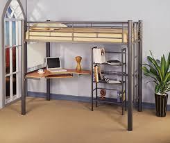 affordable loft bed desk underneath bed desk dresser combo home