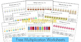 Free Multiplication Worksheets & Fact Cards {with Visual Cues ...Free Multiplication Worksheets & Fact Cards {with Visual Cues}