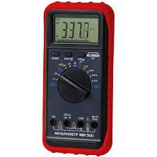 <b>Мультиметр ELITECH ММ 500</b> – купить в Москве, цена 1 621 руб ...