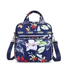 Urmiss Multi-Function Large Capacity Zipper <b>Tote Bag Floral</b> ...