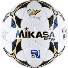 <b>Мяч футбольный Mikasa PKC55BR-1</b>, PKC55BR-1, белый цвет, 5 ...